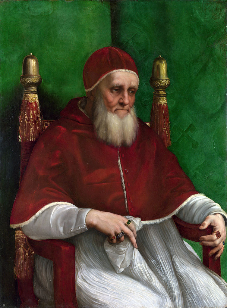 "Pope Julius II, a.k.a. ""The Warrior Pope"""