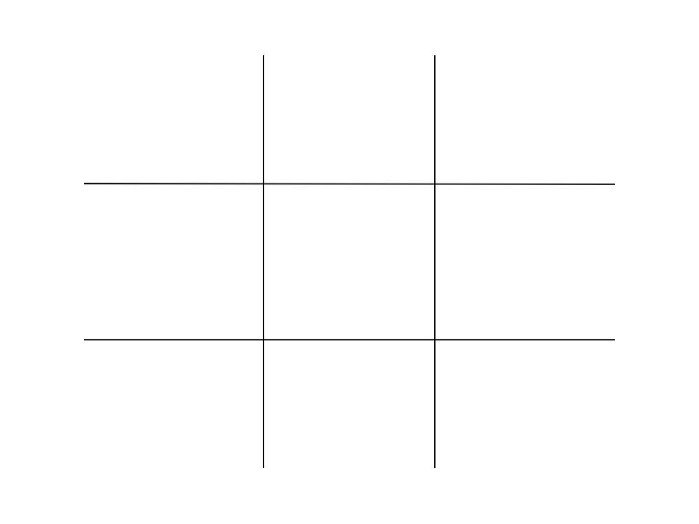 Tic tac toe, or noughts and crosses as it's called in the UK.